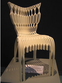 Eloueini & Brument's prototype chair