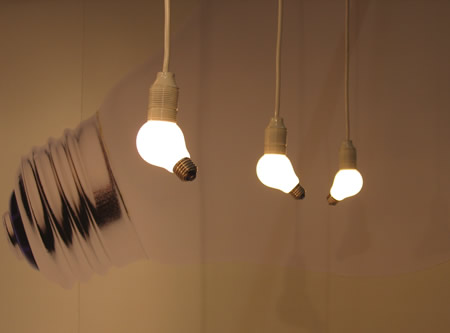 weird lightbulbs by 100%