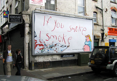 Positive Graffiti with Dave the Chimp - If You Smoke I Smoke